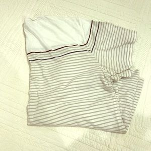 Banana Republic Soft Tee/ Striped XL